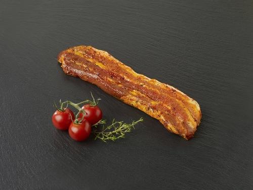 Poitrine de porc marinée au piment d'Espelette