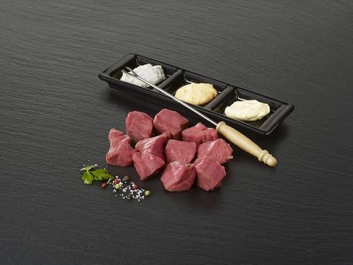 "Viande à fondue de boeuf  ""Tranche"""