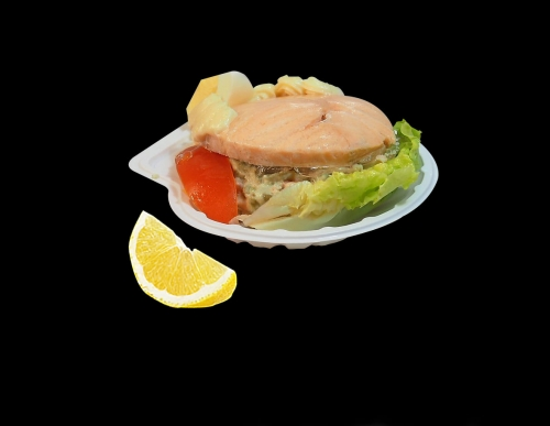 Coquille Saumon